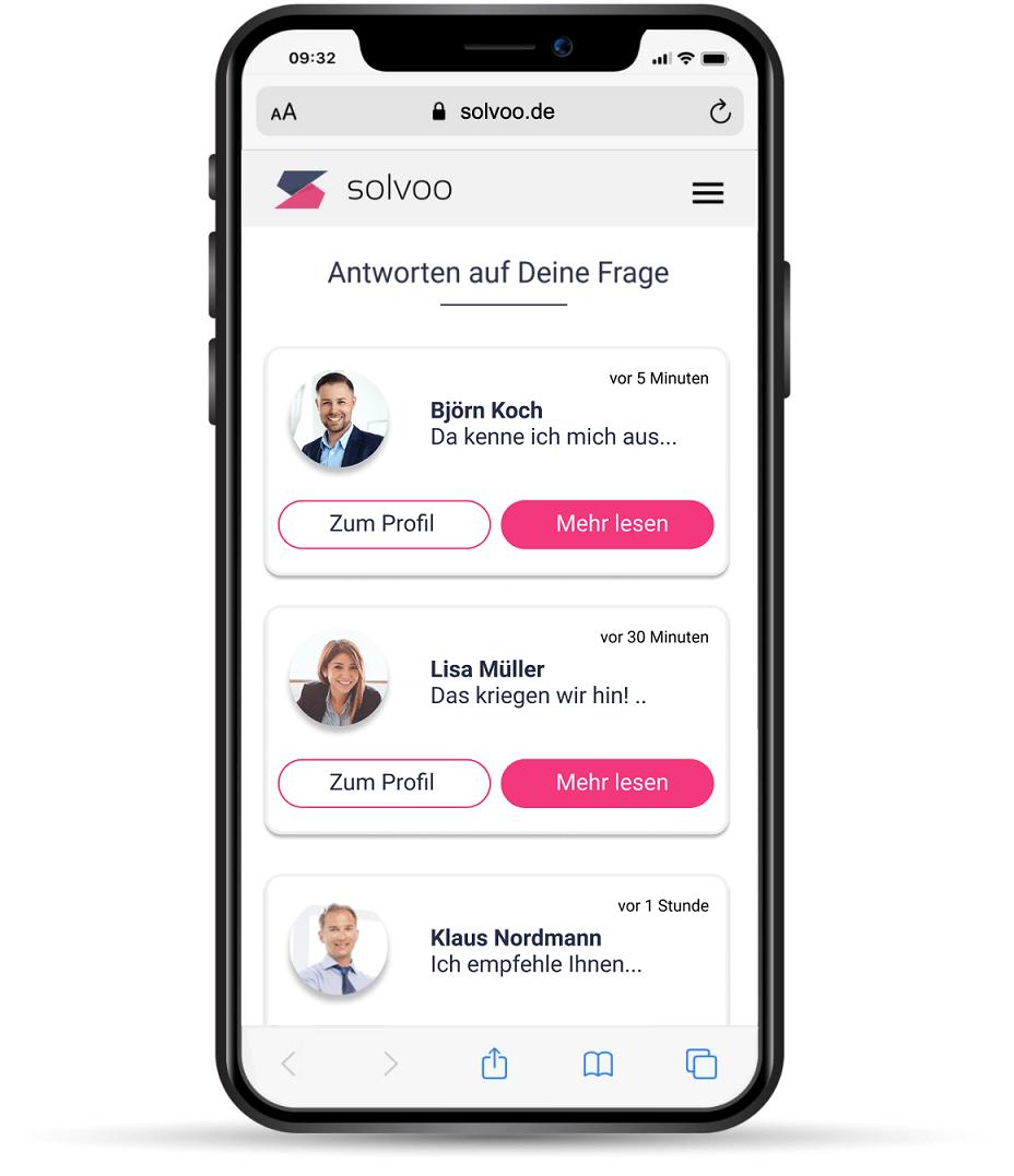 solvoo - Der smarte Zugang zum Thema Versicherung
